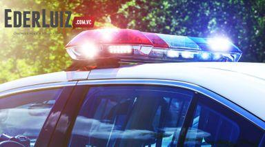 Homem foge da polícia, mas é preso com drogas em Herval d' Oeste