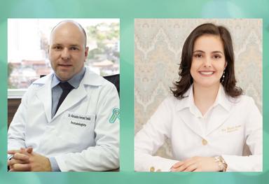 Dr. Alessandro Ferroni Tonial - Reumatologista e Dra. Daniela Sperotto - Médica Psiquiatra