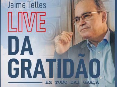 Nesta Quinta-feira (17) tem live da Gratidão
