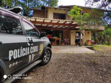 Seis idosos moram no local – Foto: Polícia Civil/Divulgação