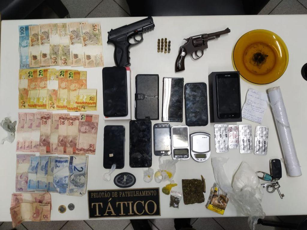 Polícia prende três pessoas por tráfico em Joaçaba