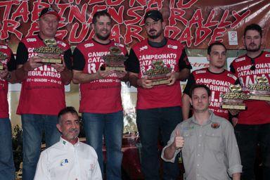 Joaçabense é campeão da segunda etapa do Catarinense de Rally Regularidade
