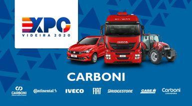 Carboni estará presente na Expo Videira 2020!