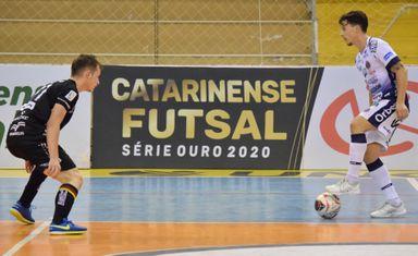 Joaçaba Futsal recebe o Tubarão nesta quinta-feira pela Série Ouro