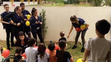 Ações Sociais são realizadas no município de Herval d´Oeste pelos aprendizes do CIEE