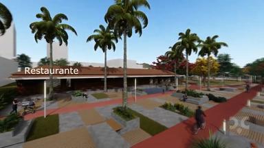 Projeto inovador sugere revitalização da Praça Central de Herval d´Oeste