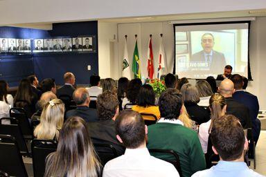 Evento em Joaçaba apresentou o Instituto de Mediação LFG