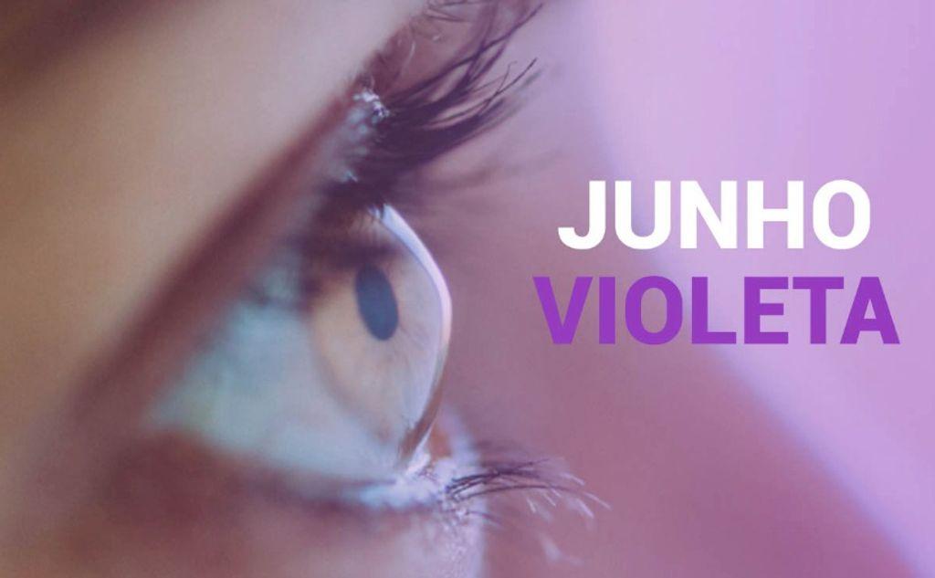 Junho Violeta: campanha alerta para prevenção do Ceratocone, doença causada pelo ato de coçar os olhos e que leva à perda da visão
