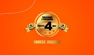 Curso de Publicidade e Propaganda da Unoesc recebe conceito 4 na avaliação do MEC