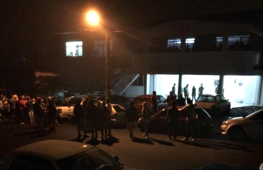 Confusão começou em frente ao clube onde acontecia um evento.