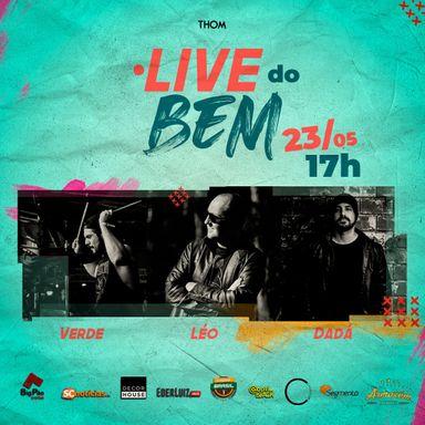 Assista a Live do Bem!