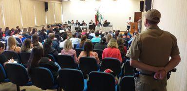 Acusados de crime bárbaro contra casal no interior de Herval d´Oeste estão sendo julgados