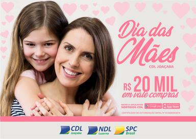 CDL/Joaçaba e NDL/Luzerna divulgam os ganhadores dos vale-compras do Dia das Mães