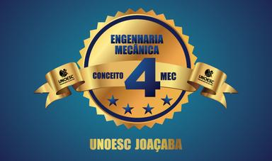 Curso de Engenharia Mecânica da Unoesc é conceito 4 na Avaliação do MEC