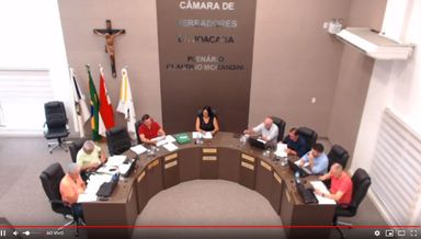 Assista a primeira sessão da Câmara de Vereadores de Joaçaba em 2019