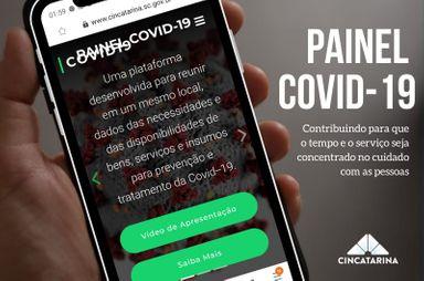 CINCATARINA lança painel COVID-19