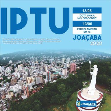Novas guias para pagamento do IPTU e outros impostos estarão disponíveis para impressão a partir da próxima segunda-feira (6)