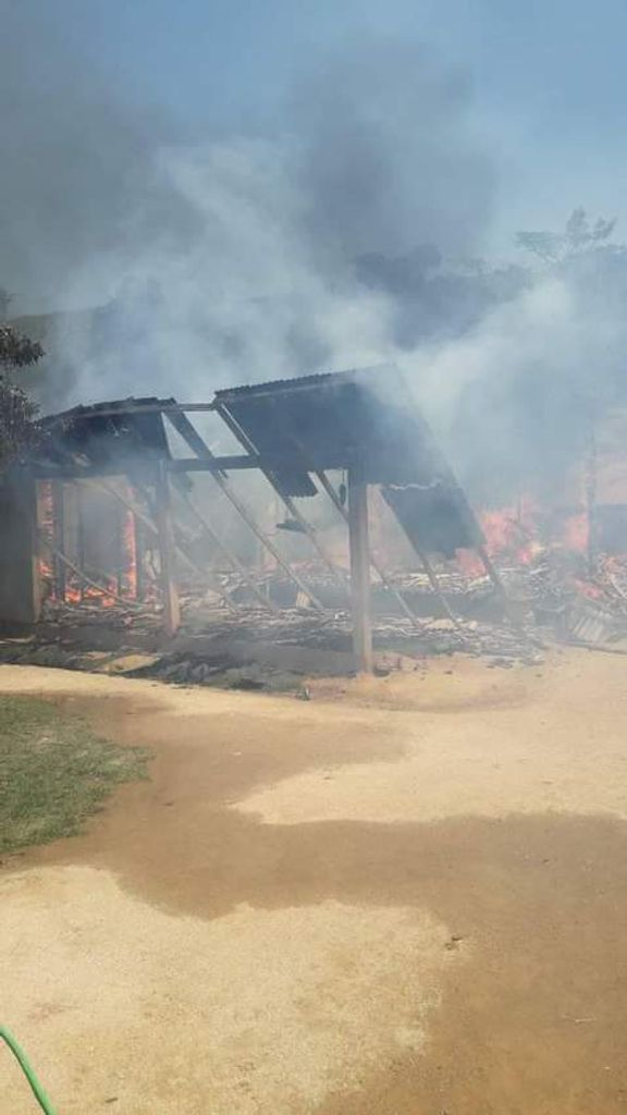 Joaçabense precisa de ajuda para reconstruir a casa que perdeu em incêndio