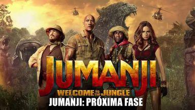 Jumanji - Próxima Fase estreia no Cine Gracher de Joaçaba