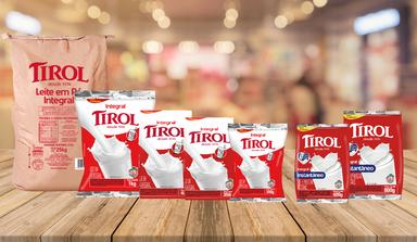 Processo de fabricação do leite em pó da Lacticínios Tirol  reforça o alto padrão de qualidade da marca