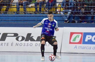 Ala Juninho é mais um reforço do Joaçaba Futsal para a temporada 2021