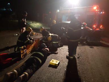 Acidente deixa duas vítimas fatais na BR-470 em Campos Novos