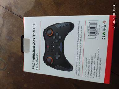 Controle para video game e celular novo
