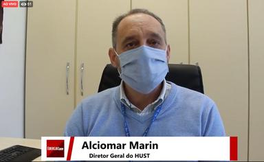 Live! Diretor do Hust fala sobre preocupação com aumento de casos de coronavírus