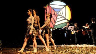 Segunda edição do projeto Na Teia - Artes Integradas Autorais aconteceu no teatro Alfredo Sigwalt