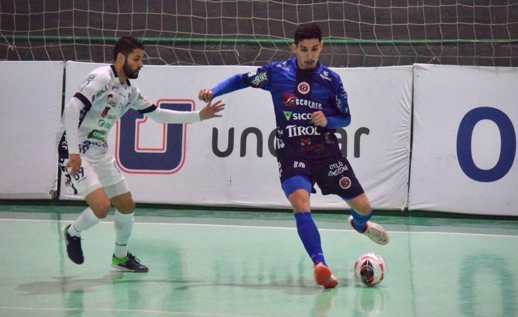 Joaçaba Futsal empata com São Lourenço no jogo de estreia na Série Ouro 2021