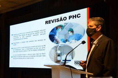 Nova Política Hospitalar Catarinense vai injetar R$ 600 milhões em hospitais do estado em 2022