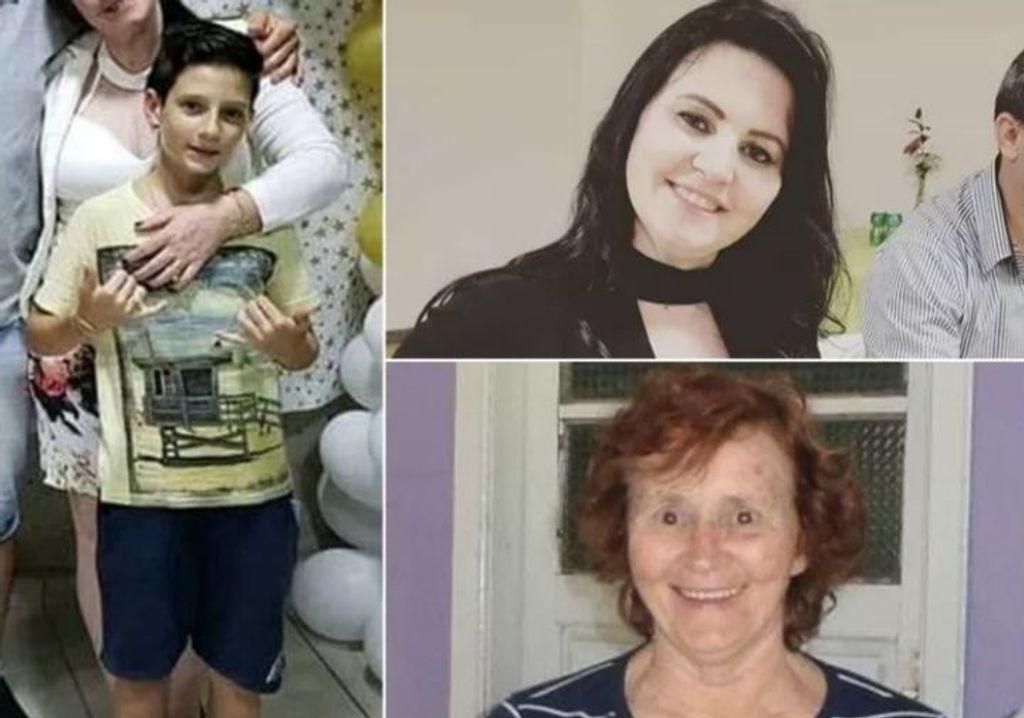 As vítimas fatais do acidente. (Foto: São Bento Notícias)