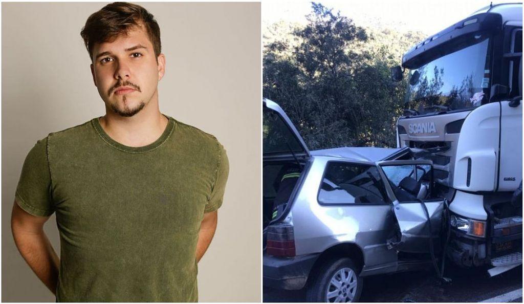 Cantor sertanejo catarinense, morre em acidente de trânsito