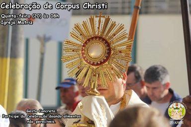 Celebração de Corpus Christi terá ação social em Herval d'Oeste