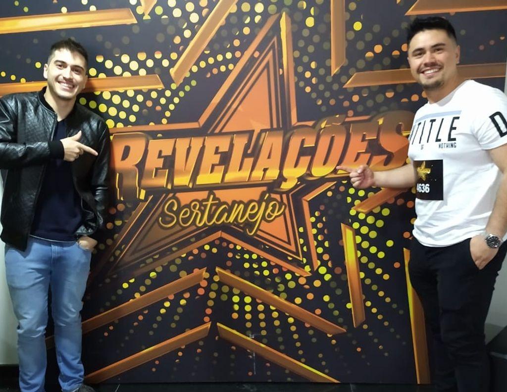Dupla Joaçabense Maicon e Matheus participará de reality Show Sertanejo na TV Aparecida