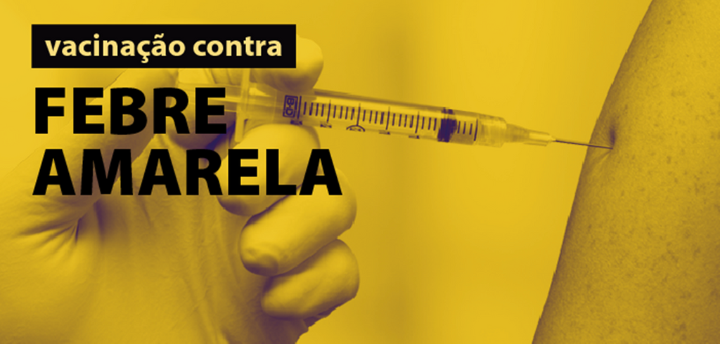 Baixa adesão à vacinação contra a febre amarela faz estado realizar Campanha de Mobilização