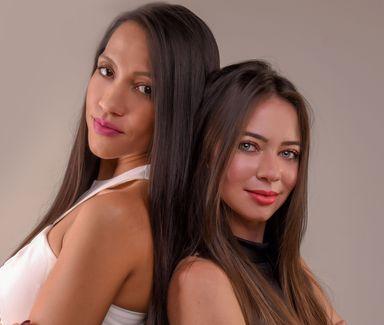 As sócias Stela Pires e Jessica Trevisan, da Antonella Boutique