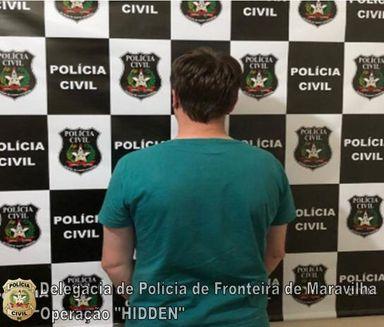 Polícia Civil prende pedófilo que agia no Oeste do Estado