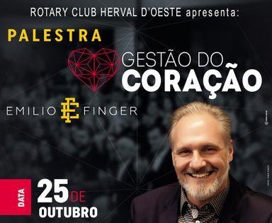 Rotary Club de Herval d' Oeste promove a palestra Gestão do Coração