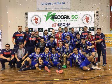 Joaçaba Futsal é Campeão da Recopa SC