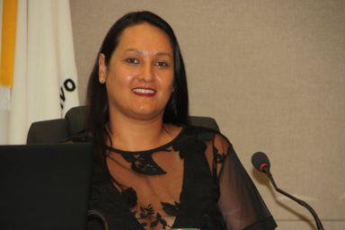 Vereadora Disnéia é eleita presidente da Câmara de Joaçaba