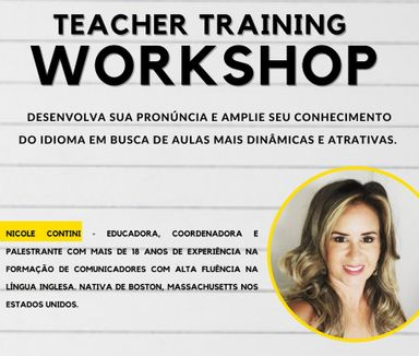 Workshop gratuito para os professores de Língua Inglesa será promovido pelo CCAA