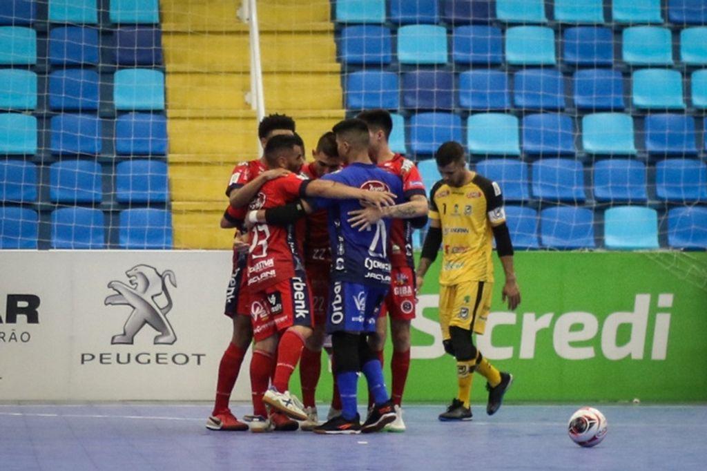 Joaçaba Futsal empata com o Juventude AG no jogo de estreia na Taça Brasil