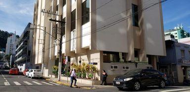 Fórum de Joaçaba. (Foto: Portal Éder Luiz)