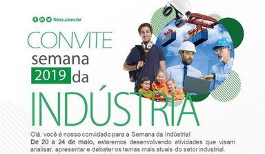 Semana da Indústria acontece de 14 à 27 de maio