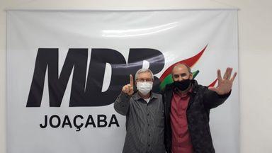 MDB lança Jorge Pohl e Delegado Ademir e concorre de chapa pura à Prefeitura de Joaçaba
