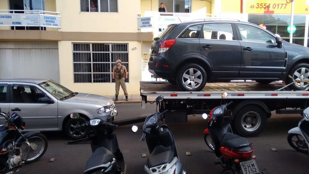 Veículos apreendidos (Foto: Polícia Civil)