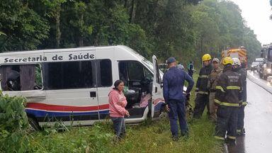 Grave acidente deixou deixa duas vítimas fatais (Imagens: Oda Silva/Portal Éder Luiz)