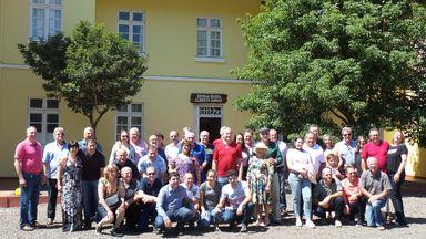 Ex-alunos do Juvenato São Pascoal de Jaborá se reencontram após quase 50 anos