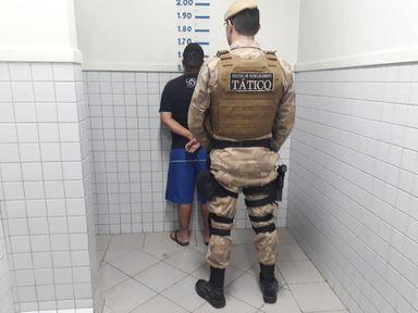 Polícia prende homem após roubar padaria em Joaçaba